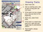 drawing tracks