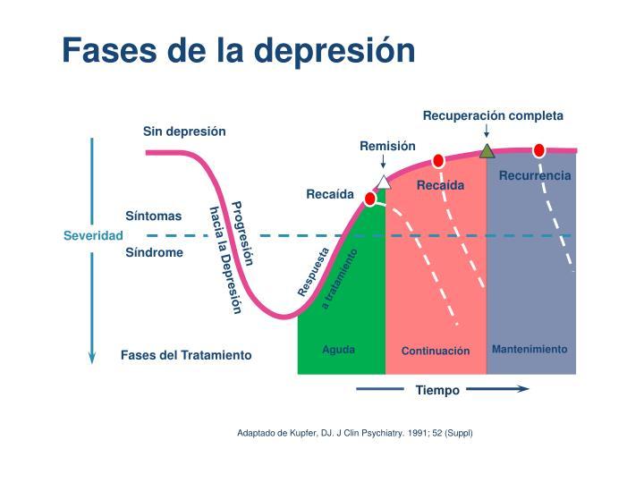 Fases de la depresión
