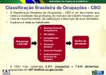 classifica o brasileira de ocupa es cbo