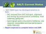 salt current status1