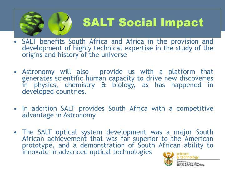 SALT Social Impact