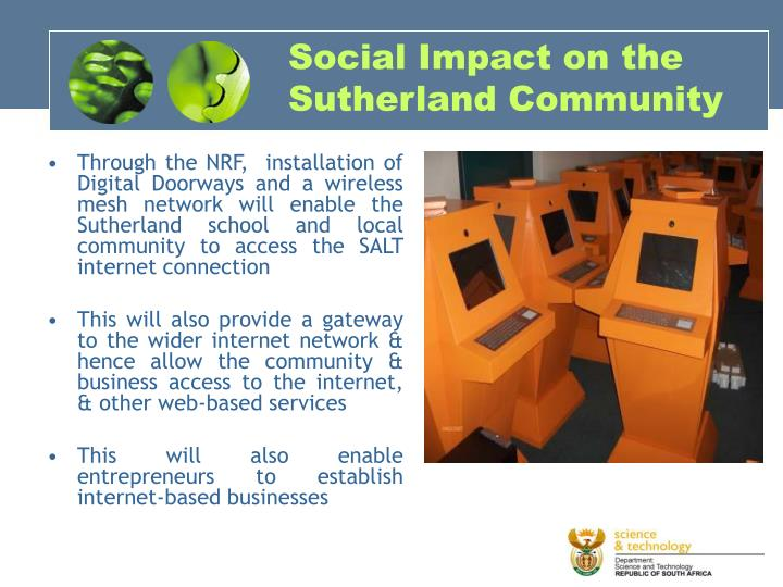 Social Impact on the Sutherland Community