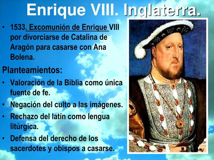 Enrique VIII.