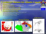 continuous datums for atlantic canada