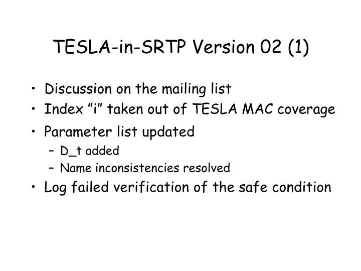 TESLA-in-SRTP Version 02 (1)