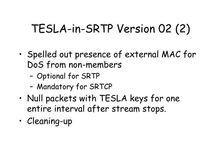 TESLA-in-SRTP Version 02 (2)
