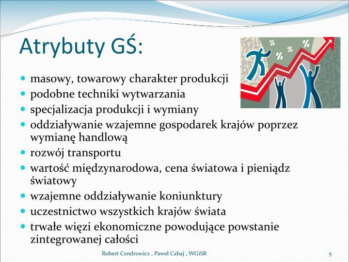 Atrybuty GŚ:
