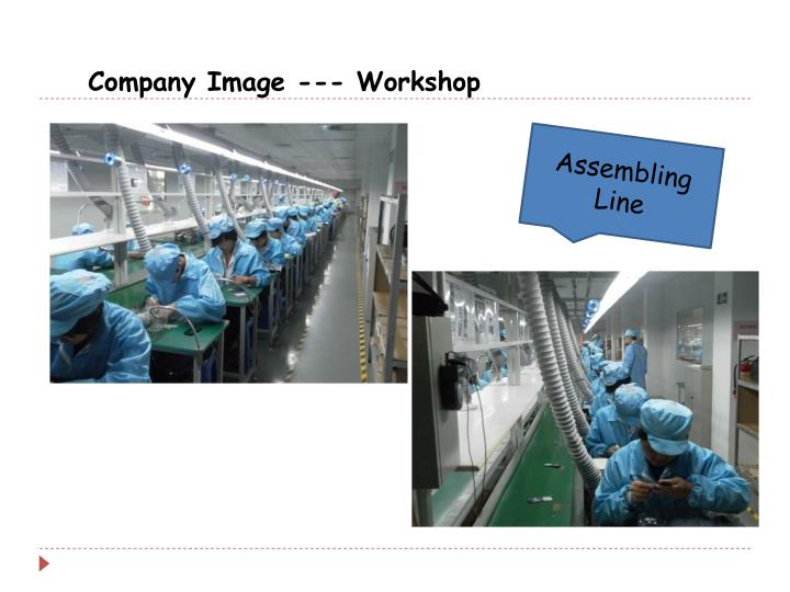 Company Image --- Workshop