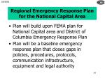 regional emergency response plan for the national capital area