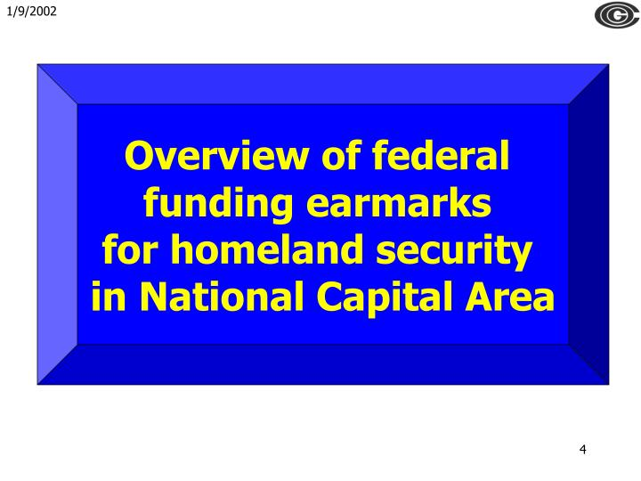Overview of federal