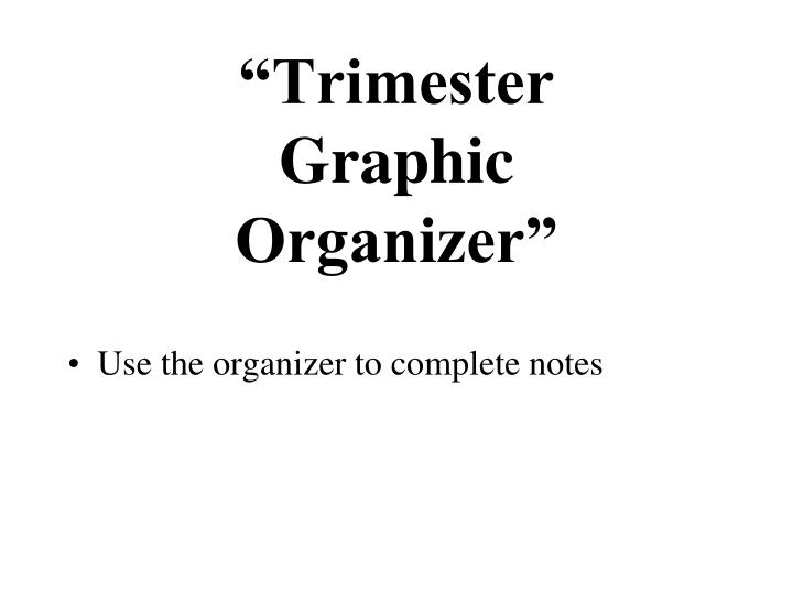 """Trimester"
