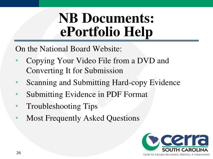 NB Documents: