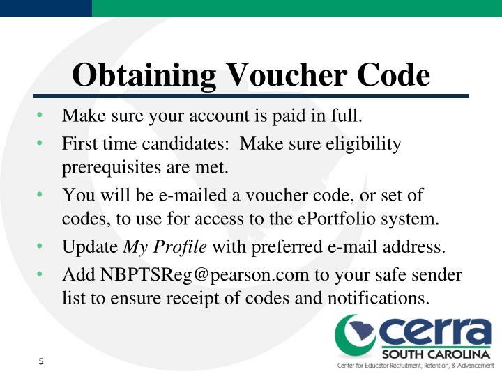 Obtaining Voucher Code