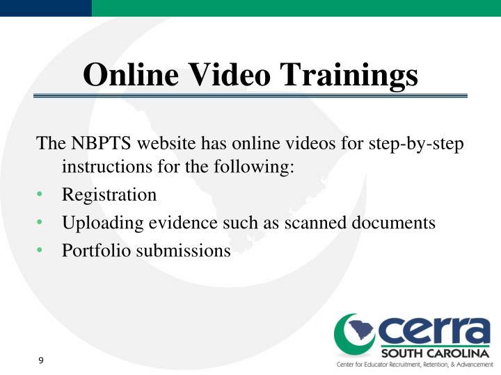 Online Video Trainings