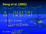 deng et al 20021