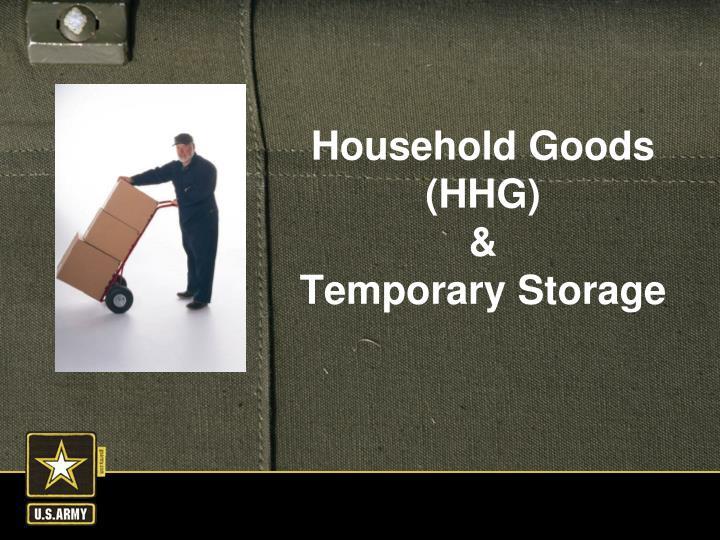Household Goods (HHG)