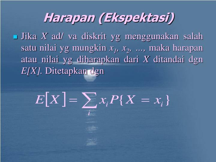 Harapan (Ekspektasi)