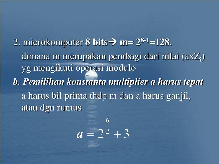 2. microkomputer