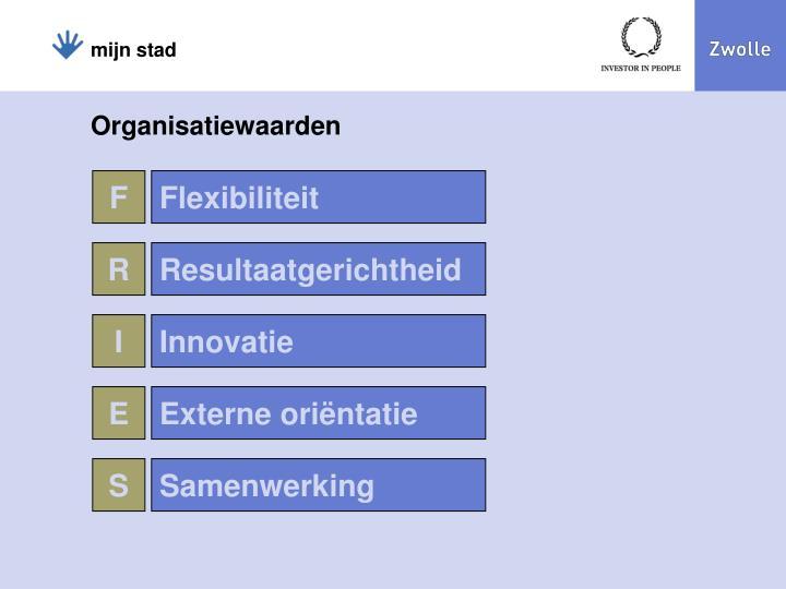 Organisatiewaarden