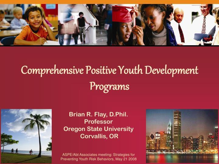 Comprehensive Positive Youth Development Programs
