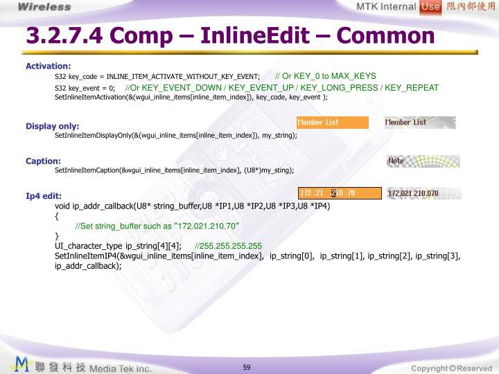 3.2.7.4 Comp – InlineEdit – Common