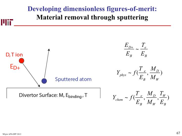 Developing dimensionless figures-of-merit: