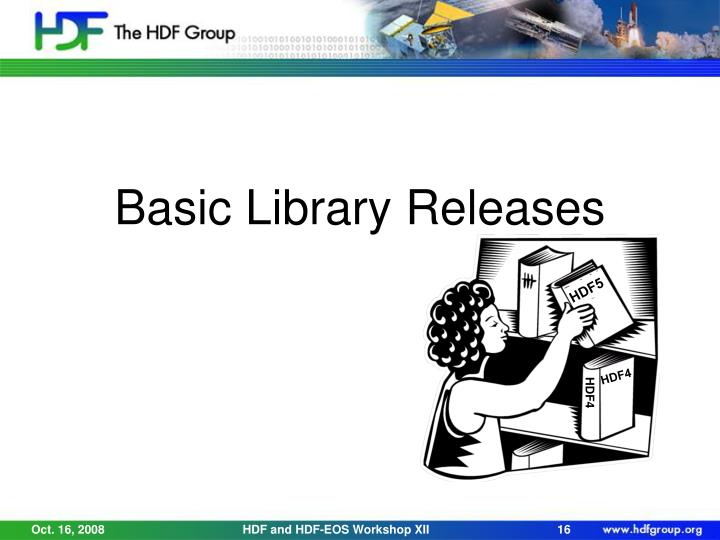Basic Library Releases