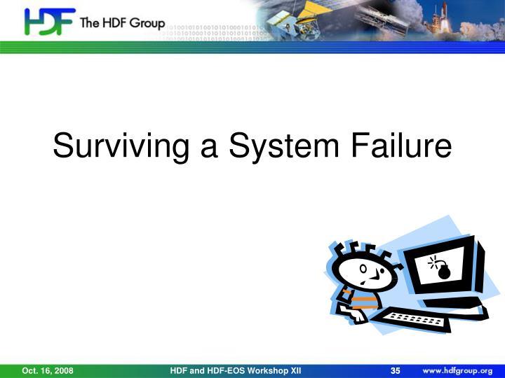 Surviving a System Failure