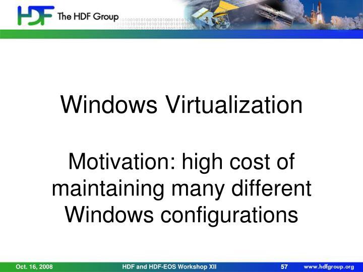 Windows Virtualization