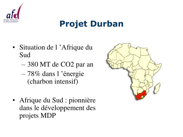 Projet Durban