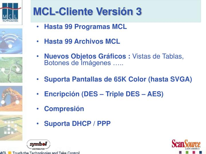 Hasta 99 Programas MCL
