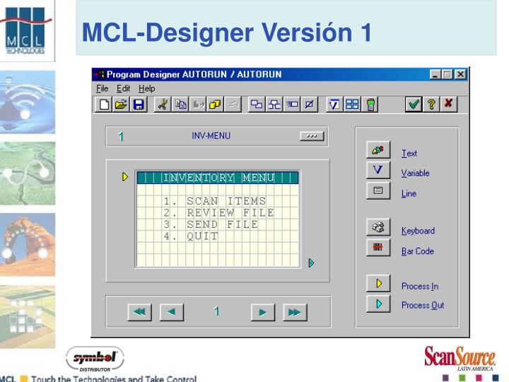 MCL-Designer Versión 1