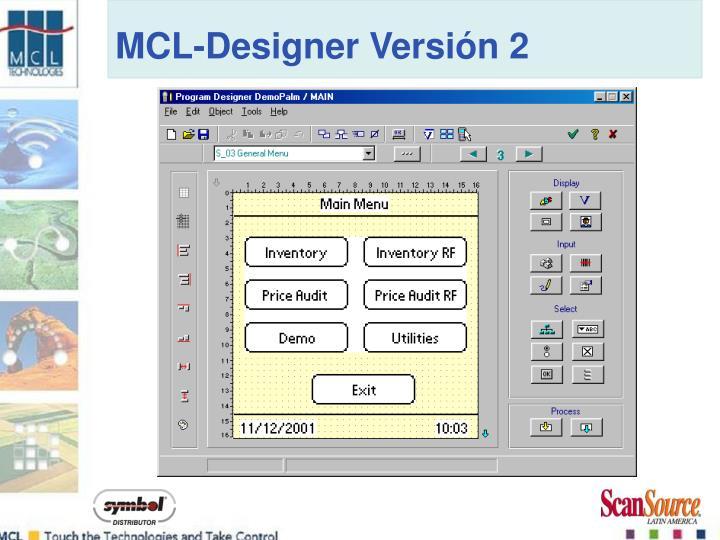 MCL-Designer Versión 2
