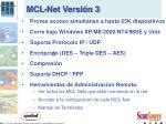mcl net versi n 3