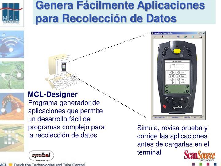Genera Fácilmente Aplicaciones para Recolección de Datos