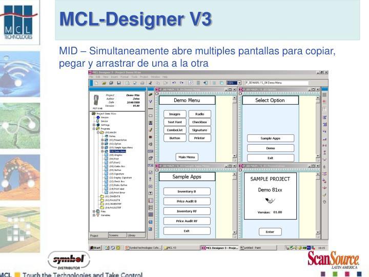 MCL-Designer V3