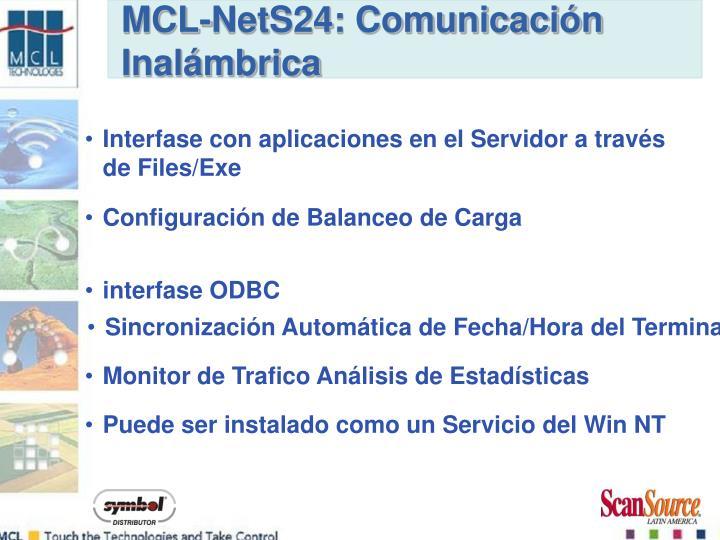 MCL-NetS24: Comunicación Inalámbrica