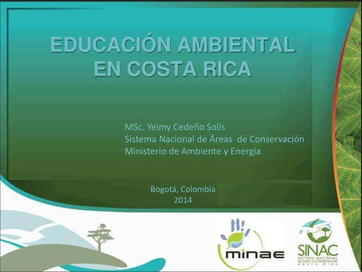 educaci n ambiental en costa rica