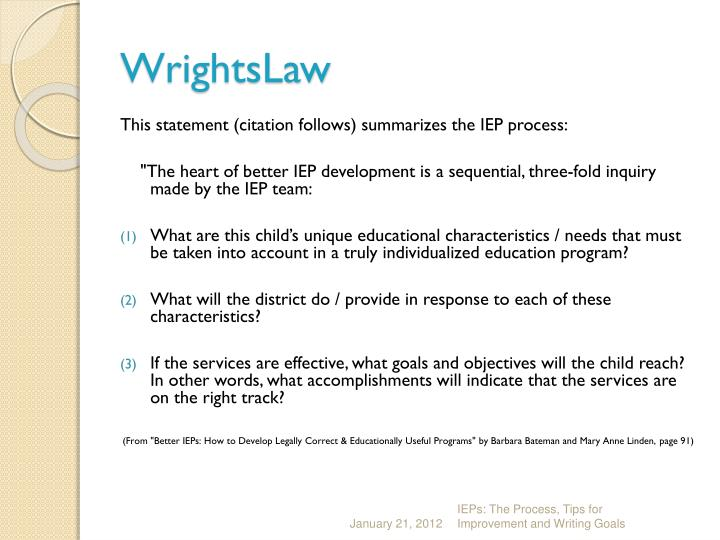 WrightsLaw