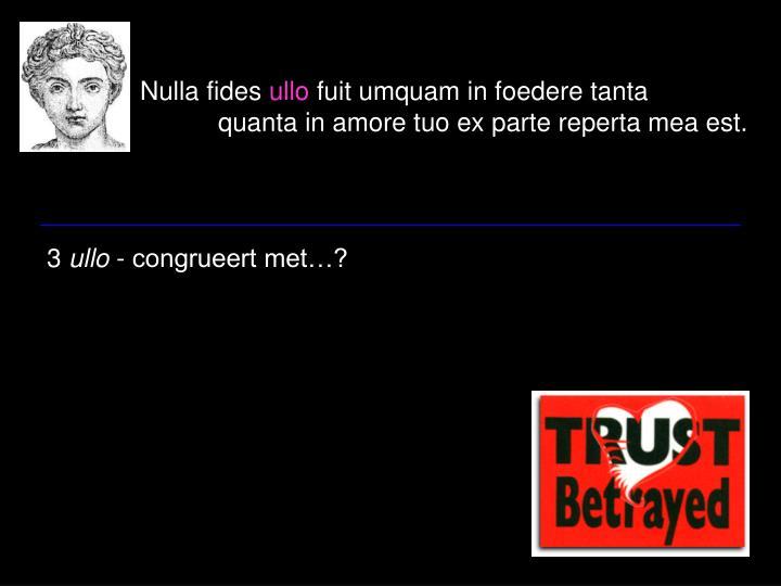 Nulla fides