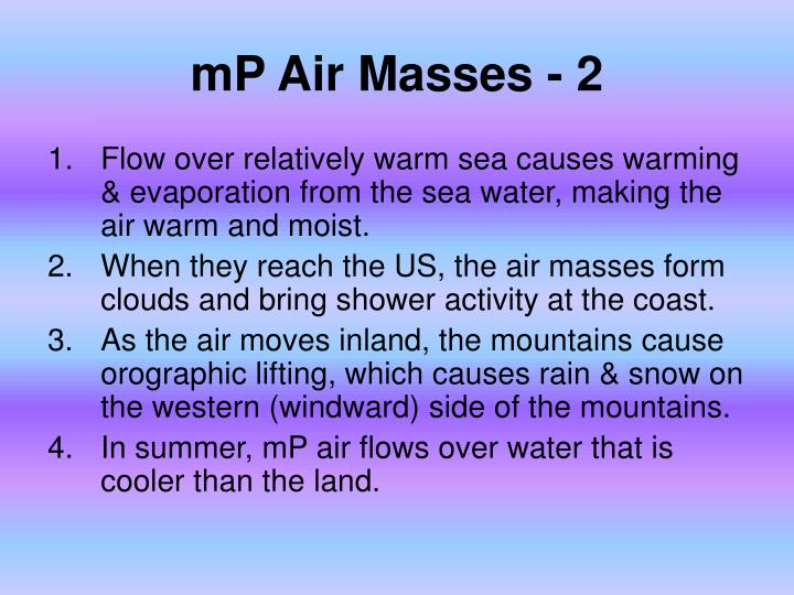 mP Air Masses - 2