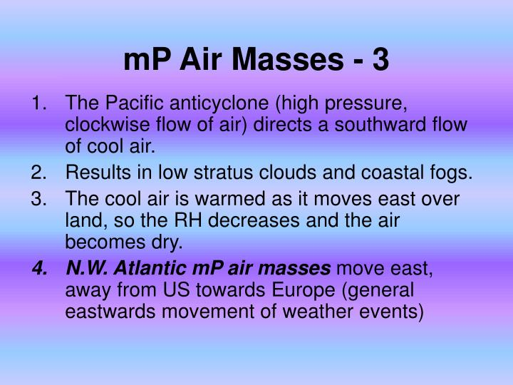 mP Air Masses - 3