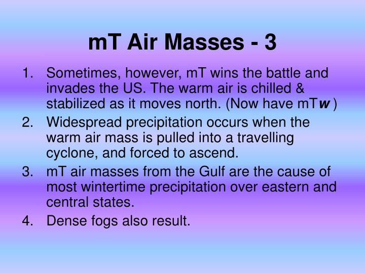 mT Air Masses - 3