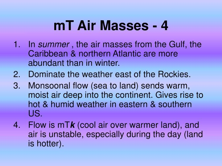 mT Air Masses - 4