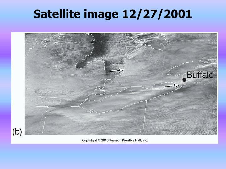 Satellite image 12/27/2001