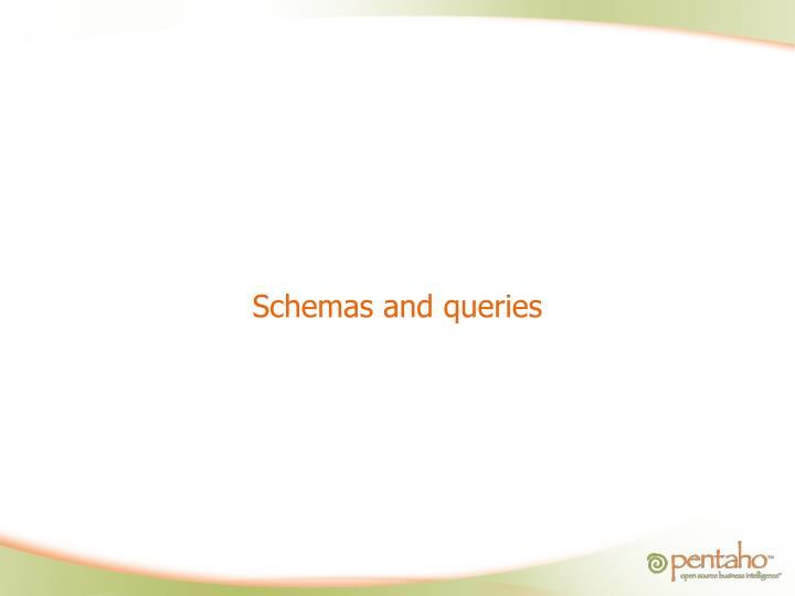 Schemas and queries