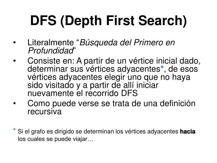 DFS (Depth First Search)