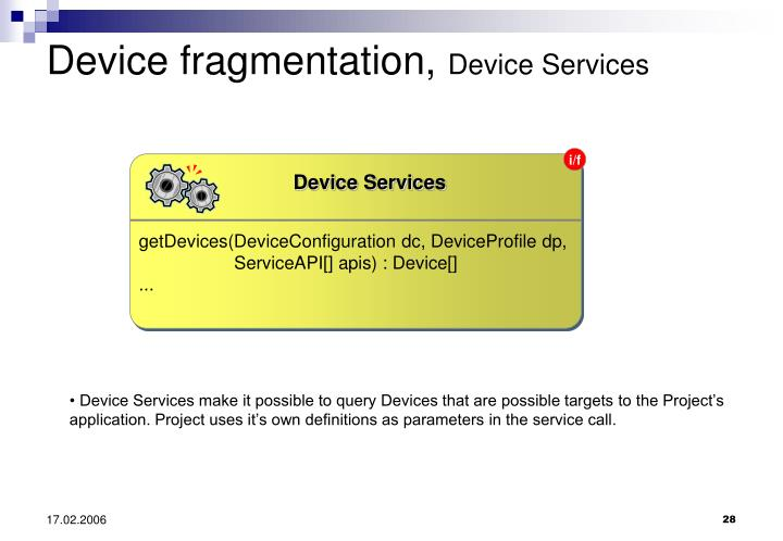 Device Services