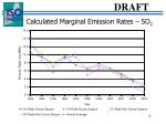 calculated marginal emission rates so 2