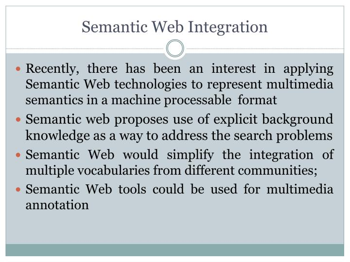 Semantic Web Integration